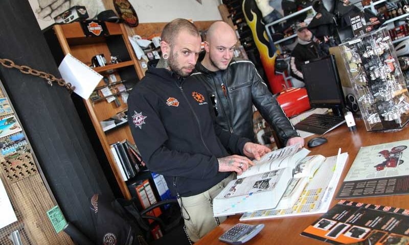 HARLEY OPEN DAY TRENTO 2012 – New Black e Orange (3)