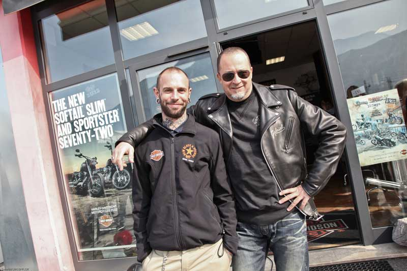 HARLEY OPEN DAY TRENTO 2012 – New Black e Orange (7)