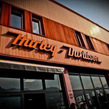 HARLEY OPEN DAY TRENTO 2012 - New Black e Orange